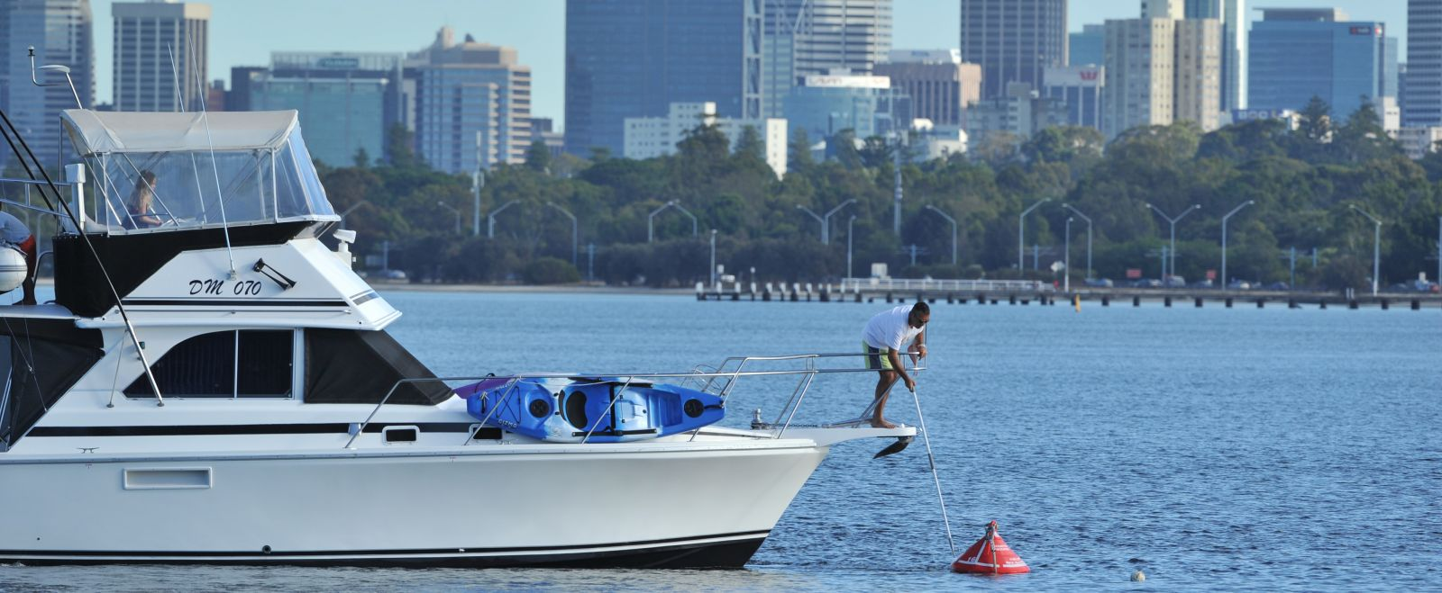 Have your say on future development and changes around Perth Waters.