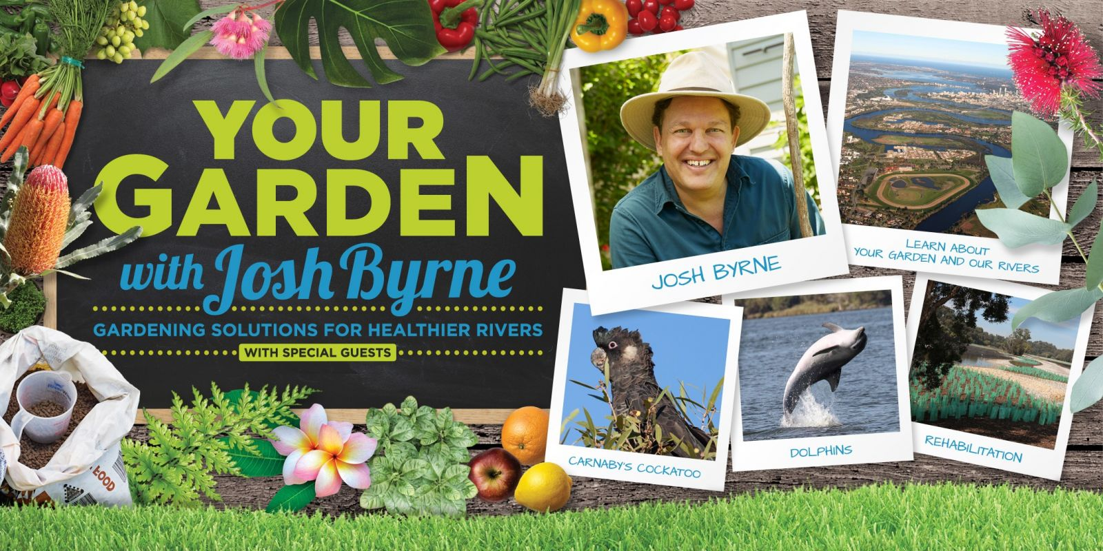 RiverWise Gardening workshops with Josh Byrne